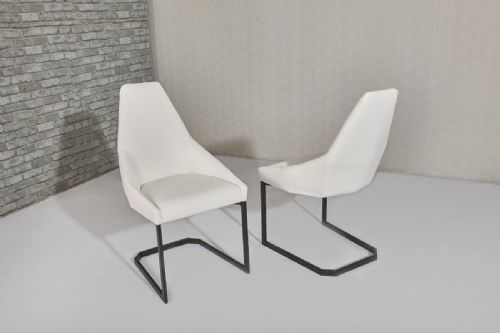 Avanti White Dining Chair
